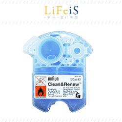 當代美學 BRAUN【CCR2】洗淨液 清洗液 更換耗材 匣式清潔液 百靈
