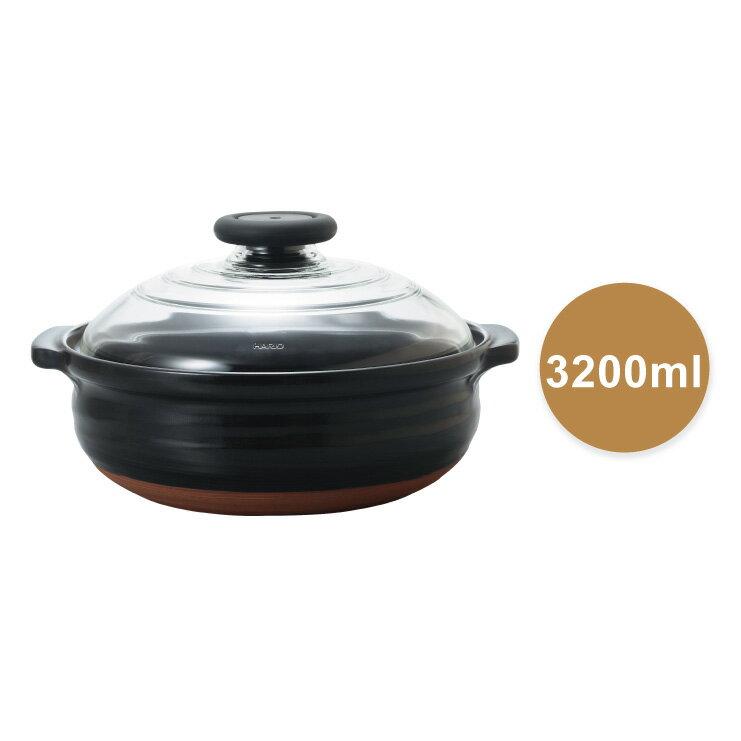 HARIO 新萬古燒土鍋-9號/MNN-255-B 0