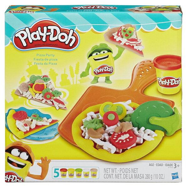《Play-Doh 培樂多》披薩派對遊戲組
