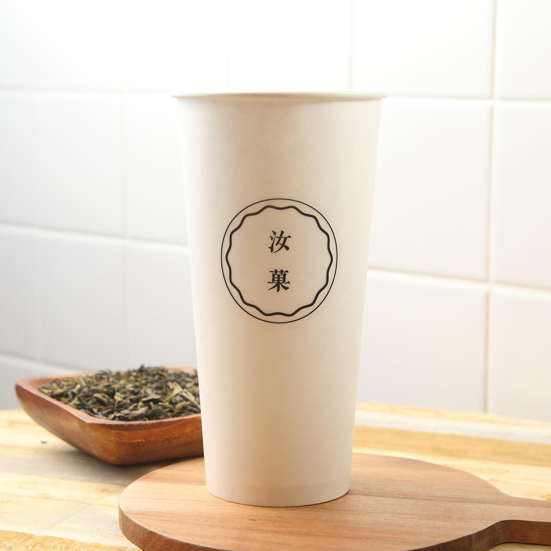 【汝菓】翡翠綠茶 L (冷/熱) 700 c.c.★茶飲★電子票券