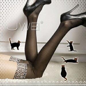 野性迷戀‧性感豹紋長筒絲襪(黑)性感絲襪造型網襪子.情趣服裝角色扮演.薄紗花紋蕾絲網紗柔緞.美腿透視透膚.簍空網襪.情人節禮物.熱銷款哪裡買專賣店P221-JA24160515