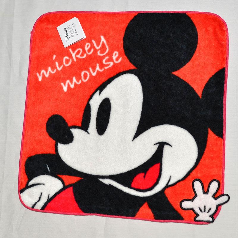 Mickey 米奇 立體 方巾 毛巾 手帕 日本限定正版品 迪士尼
