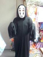 神隱少女周邊商品推薦東區派對-  萬聖節面具,搞笑 恐怖 面具~無臉男全套(兒童)