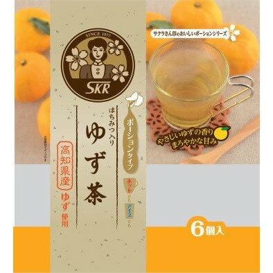 Sakura濃縮高知柚子茶球6個入 144g 柚子茶隨手包 ゆず茶ポーションタイプ 日本進口 3.18-4 / 7店休 暫停出貨 1
