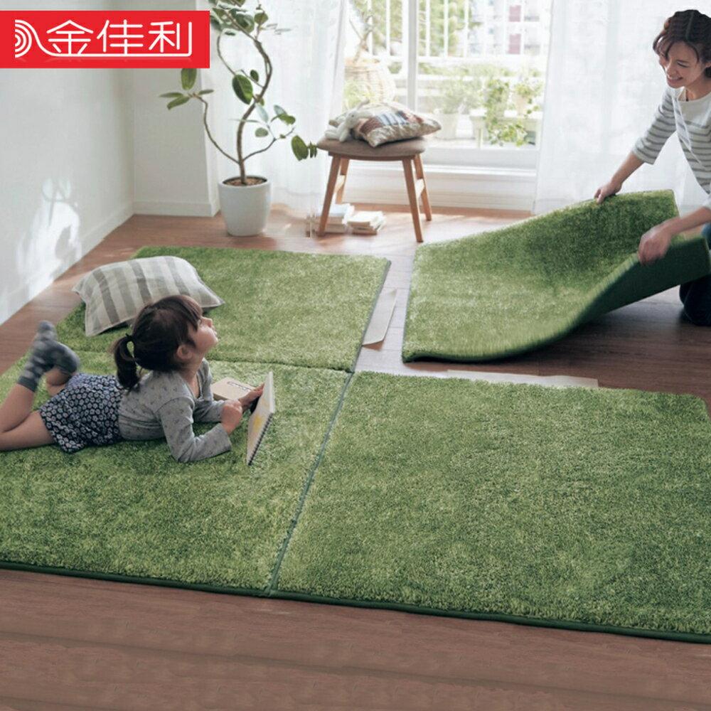 臥室拼接地毯滿鋪加厚環保客廳床邊腳墊防滑門墊子日式榻榻米地墊 JD   全館八五折