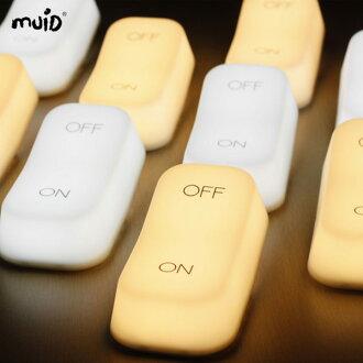 重力感應小夜燈 ON-OFF 創意開關燈/充電LED小夜燈/可調節/床頭燈/桌燈/露營燈