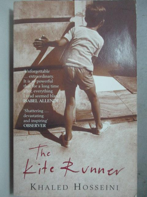 【書寶二手書T1/原文小說_JNL】Kite Runner 追風箏的孩子_Hosseini, Khaled