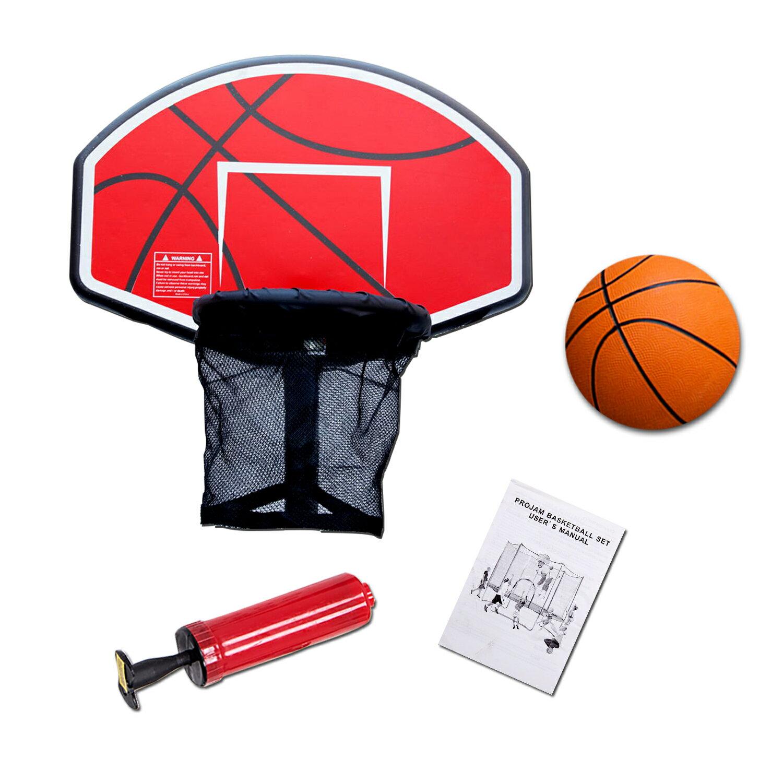 Mcombo: EXACME Trampoline Basketball Hoop Game Play Sport