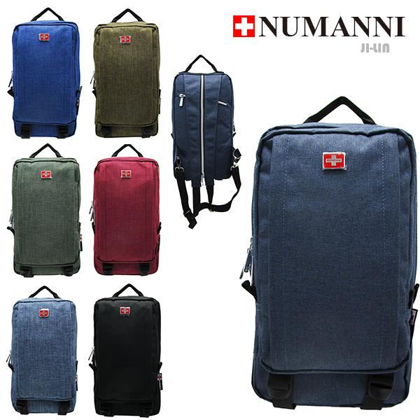 58-736【NUMANNI 奴曼尼】輕休閒手提單雙肩後背包 (七色)