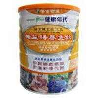 【12罐免運】健康年代 糖益膳養生飲 (奶素)900g/罐x12罐 【宅配,一單最多24罐】