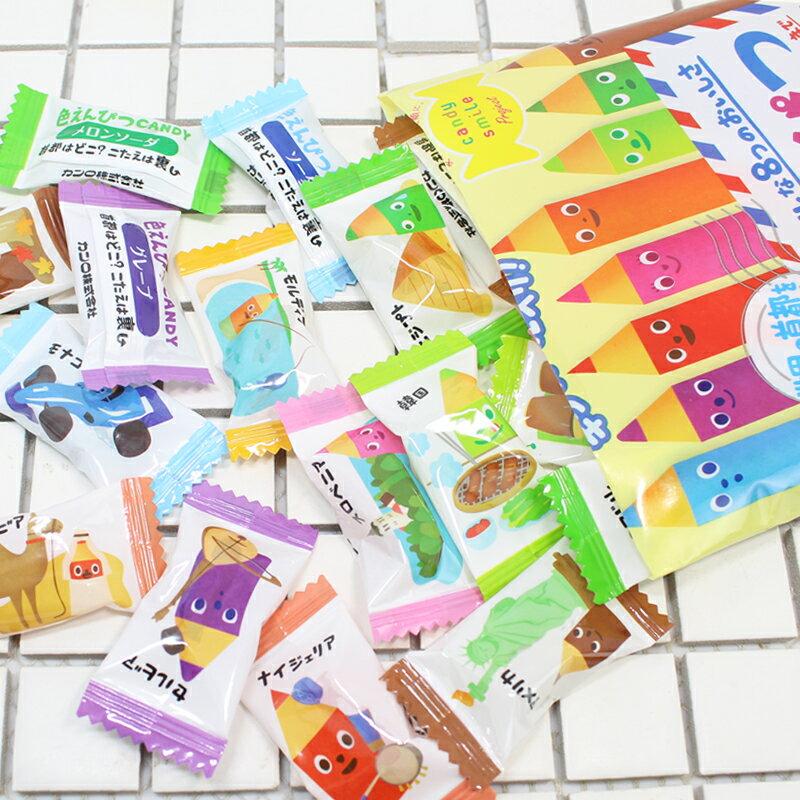 【KANRO甘樂】彩色鉛筆造型糖-綜合水果口味 80g カンロ 色えんぴつキャンディ 日本進口糖果 3.18-4 / 7店休 暫停出貨 3