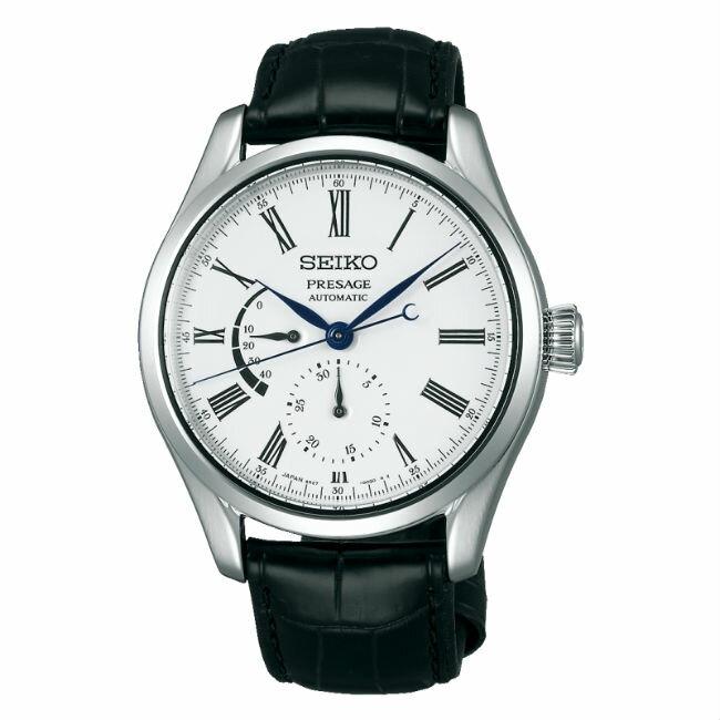 Seiko 精工錶 Presage 6R27-00L0S(SPB045J1)琺瑯工藝腕錶動力儲存顯示機械腕錶/40.5mm
