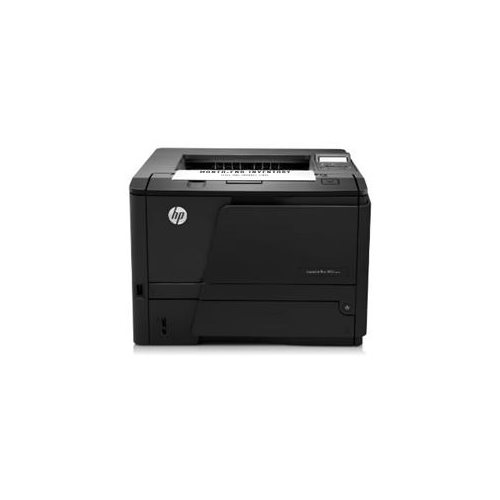 HP LaserJet Pro 400 M401N Laser Printer - Monochrome - 1200 x 1200 dpi Print - Plain Paper Print - Desktop - 35 ppm Mono Print - 300 sheets Standard Input Capacity - 50000 Duty Cycle - Manual Duplex Print - LCD - Ethernet - USB 1