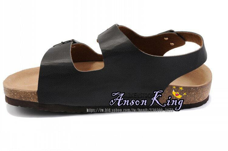 [Anson King]Outlet正品代購  birkenstock Milano系列 男女款 懶人涼拖鞋 黑色裂紋 1