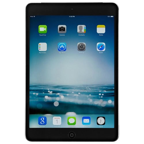 """Apple iPad Mini 2nd 16GB Wi-Fi 7.9"""" Display LED Backlit Multi Touch Tablet - White / Silver 31a0d641441dc2222c815abf63bdabee"""