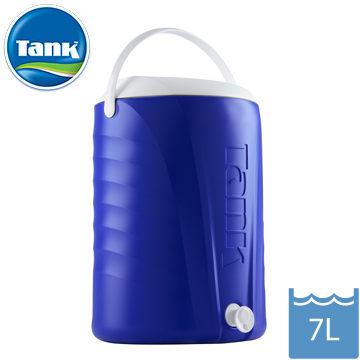 【Tank】原裝進口 保冰水壺 運動 戶外 露營 冰桶 保冷 7L