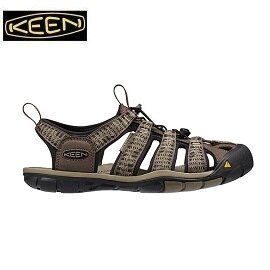 [ KEEN ] 男 Clearwater CNX 深咖啡印花 / 止滑護趾透氣 / 水陸兩用鞋 / 公司貨 1016293