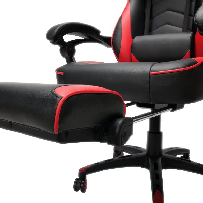 RESPAWN-110 Racing Style Gaming Chair - Reclining Ergonomic Leather Chair with Footrest, Office or Gaming Chair (RSP-110) 9