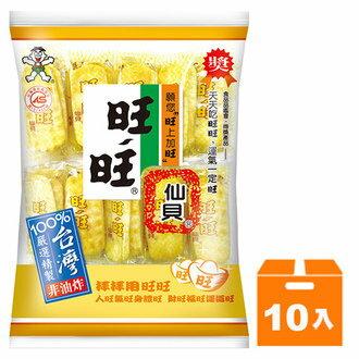 旺旺仙貝 家庭號 112g (10入)/箱