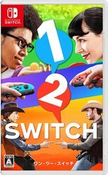 現貨供應中 英日文版 [普遍級]  NINTENDO SWITCH 1-2-Switch