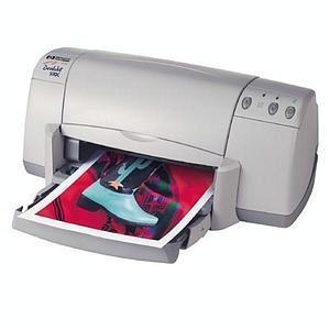 HP Deskjet 932C Inkjet Printer - Color - 2400 x 1200 dpi Print - Photo Print - Desktop - 9 ppm Mono / 7.5 ppm Color Print - Letter, Legal, Executive, Envelope No. 10, A2 Envelope, Index Card, Index Card, Index Card, Custom Size - 100 sheets Standard Input 1