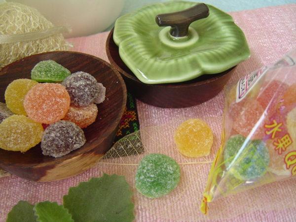 【綜合水果QQ糖】《易買健康堅果零嘴坊》貼心小包裝.還有很多可愛造型可供選擇喔!!!