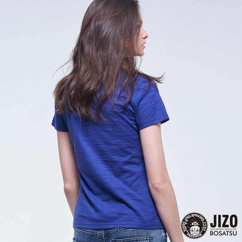 【2020春夏新品】金魚姬貓鼠遊戲短TEE(藍紫)  - BLUE WAY JIZO 地藏小王 2