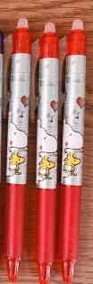 【真愛日本】18041900011日本製水性擦擦筆-SN漫畫紅史努比snoopy擦擦筆原子筆文具日本製