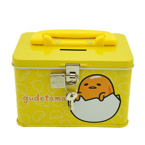 【卡通夢工場】蛋黃哥四方手提存錢筒 KRT-661327A