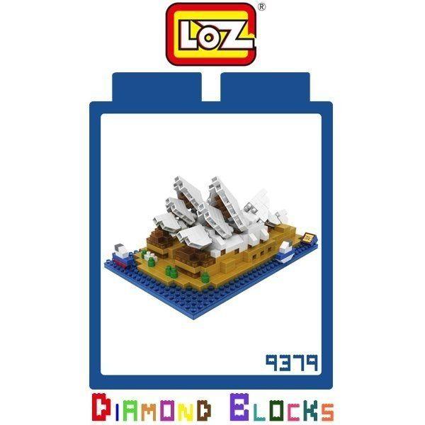 【東洋商行】LOZ 迷你鑽石小積木 澳洲 雪梨歌劇院 樂高式 益智玩具 組合玩具 原廠正版 世界建築系列