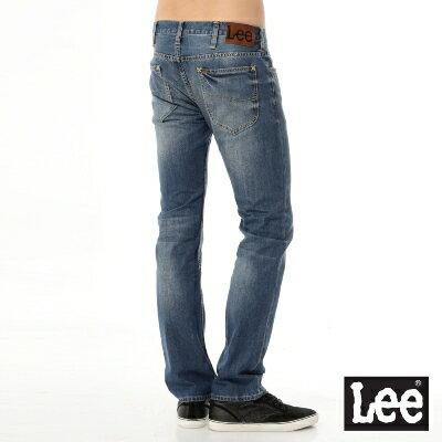 Lee 牛仔褲 Main line 724 中腰標準直筒-男款(中漂藍) 1