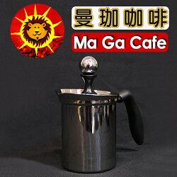【曼珈咖啡】日本寶馬 雙層奶泡器 400ml 玻璃視窗