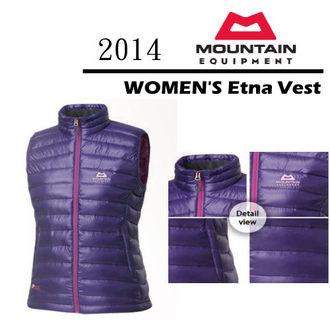 MOUNTAIN EQUIPMENT 英國 | Etna Vest 女款 伊娜 輕量 保暖 鵝絨 背心 | 秀山莊(MEKW0027)