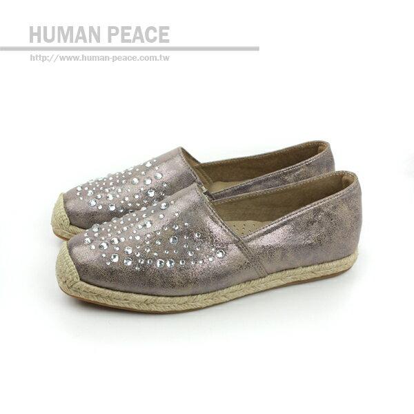 HUMAN PEACE 懶人鞋 紫灰 女款 no264