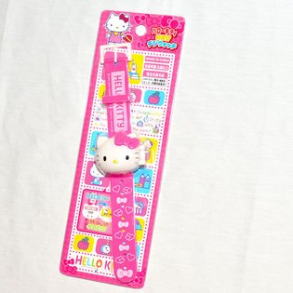 HelloKitty兒童電子手錶日本帶回正版