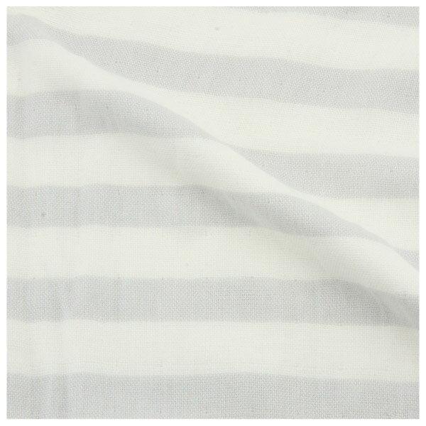 純棉紗布大浴巾 BORDER LGY 68×140 NITORI宜得利家居 2
