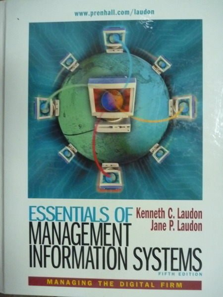 【書寶二手書T8/大學資訊_PLJ】Essentials of Management Inform..._5/e