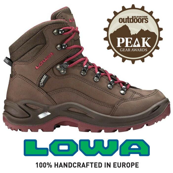 【鄉野情戶外用品店】 LOWA |德國| Renegade GTX 標準版中筒防水登山鞋 女款/LW320945-4251