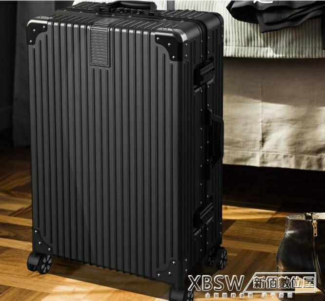 行李箱ins網紅鋁框24學生萬向輪20寸小型 24寸CY