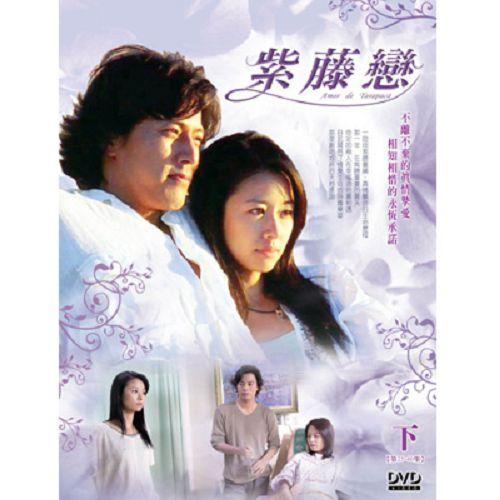 【超取299免運】紫藤戀DVD (第25-40集/笫二部/2片裝) 韓在石/林心如