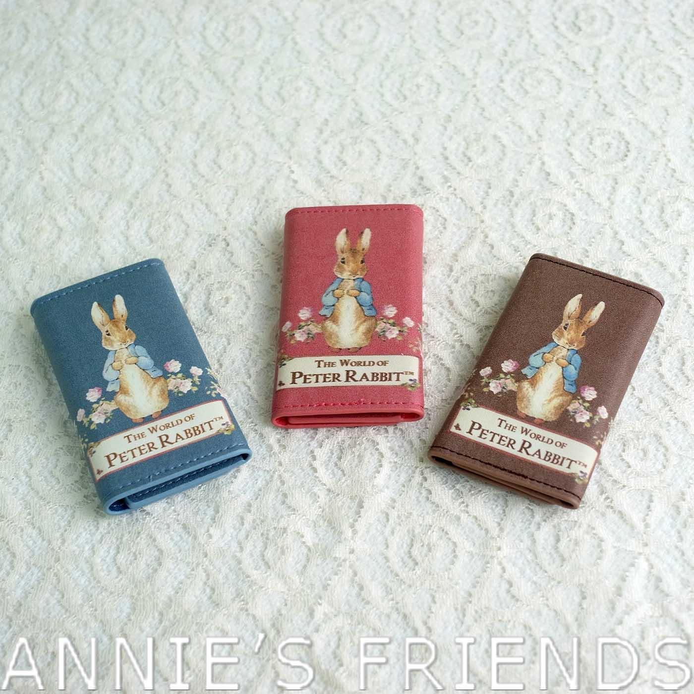 ~Annie #x27 s Friends~Peter Rabbit 比得兔玫瑰鑰匙包