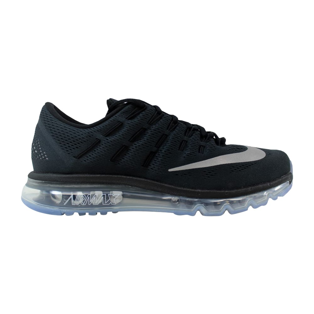 6d0386aacf88 Kixrx  Nike Air Max 2016 Black White-Dark Grey 806771-001 Men s Size ...