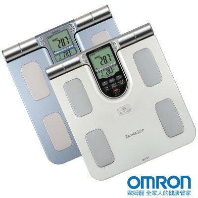 OMRON歐姆龍體重體脂計HBF-371(銀白色)體脂肪計 體脂計HBF371