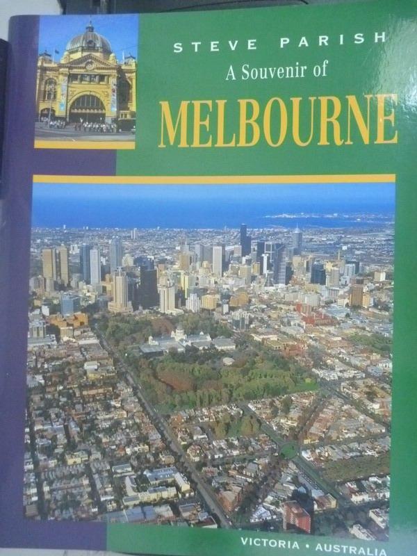 ~書寶 書T8/地理_WFO~A Souvenir Of Melbourne_Steve