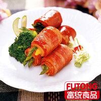 中秋節烤肉食材到【富統食品】培根B (1KG/包;約36片)