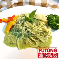 【富統食品】金品亞德里奶青醬鮭魚義大利麵 (300g/包) 0
