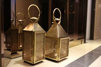Upptäck Deco 萊佛士黃銅提燈 - 全兩個尺寸【7OCEANS七海休閒傢俱】
