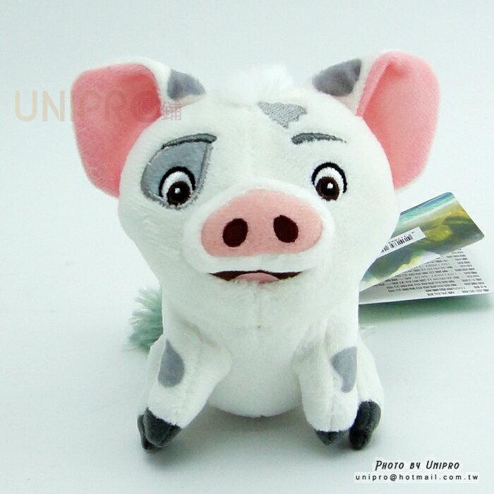 【UNIPRO】迪士尼 海洋奇緣 MOOANA 小豬 PUA 11公分 坐姿 絨毛娃娃 珠鍊吊飾 包包吊飾 正版授權 Pig