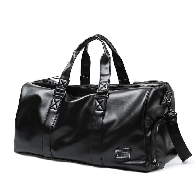 健身背包男運動訓練干濕分離手提包旅游出差旅行大容量行李袋男包
