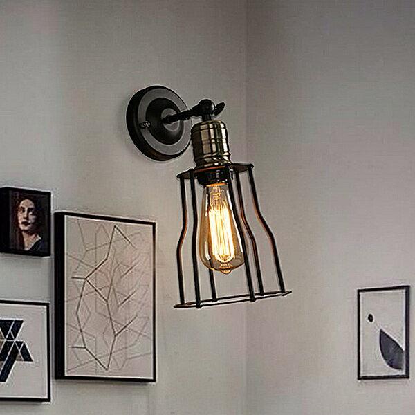 【威森家居】美式 礦坑工作壁燈 現貨實木鐵藝工業風現代簡約復古吸頂燈吊燈檯燈大廳客廳臥室燈具LED設計師 L170704